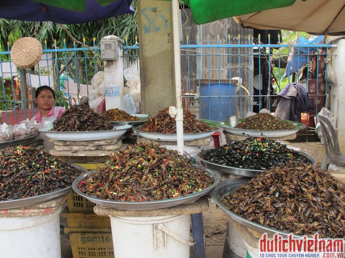 Chợ côn trung Campuchia