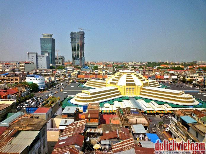 Chợ trung tâm - Sa Thmey