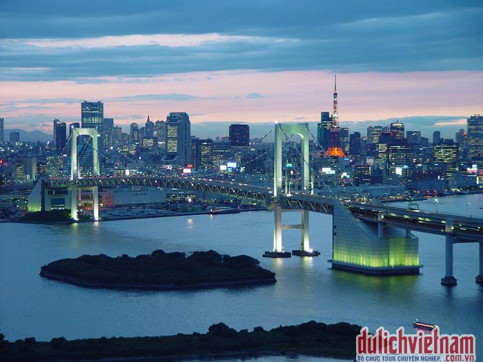 Thành phố năng động Nhật Bản