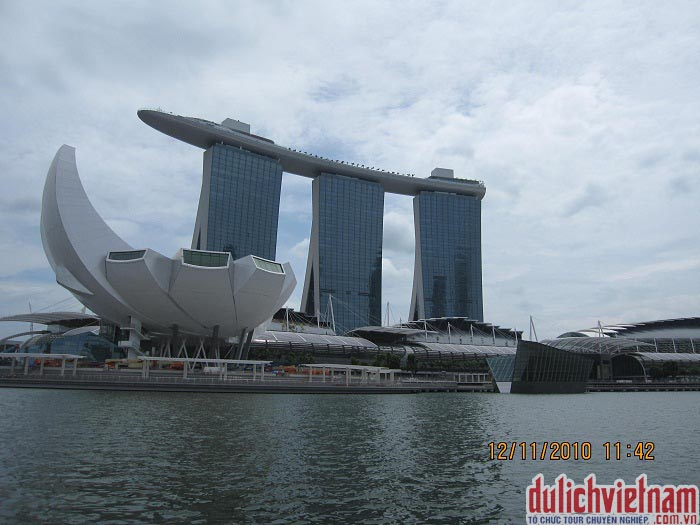 Du lịch đến thành phố singapore