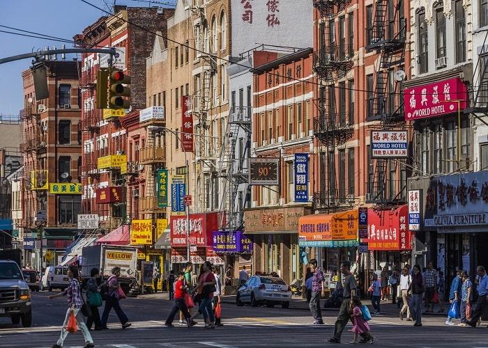 China Town - Khu phố người Hoa ở New York