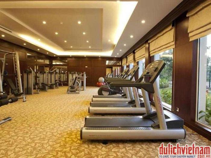du lịch nha trang - Khu thể dục thể thao tại khách sạn
