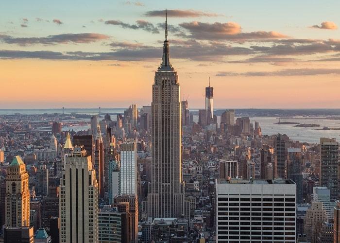 Tòa nhà Empire State Building nổi tiếng trong bộ phim King Kong