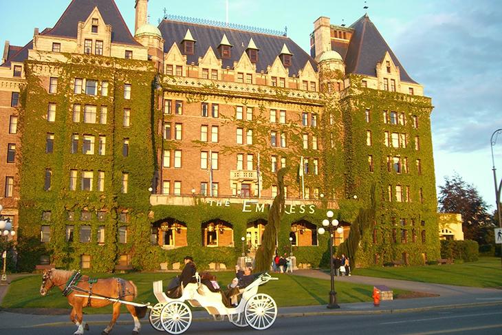 Kết quả hình ảnh cho Khách sạn cổ Fairmont Empress